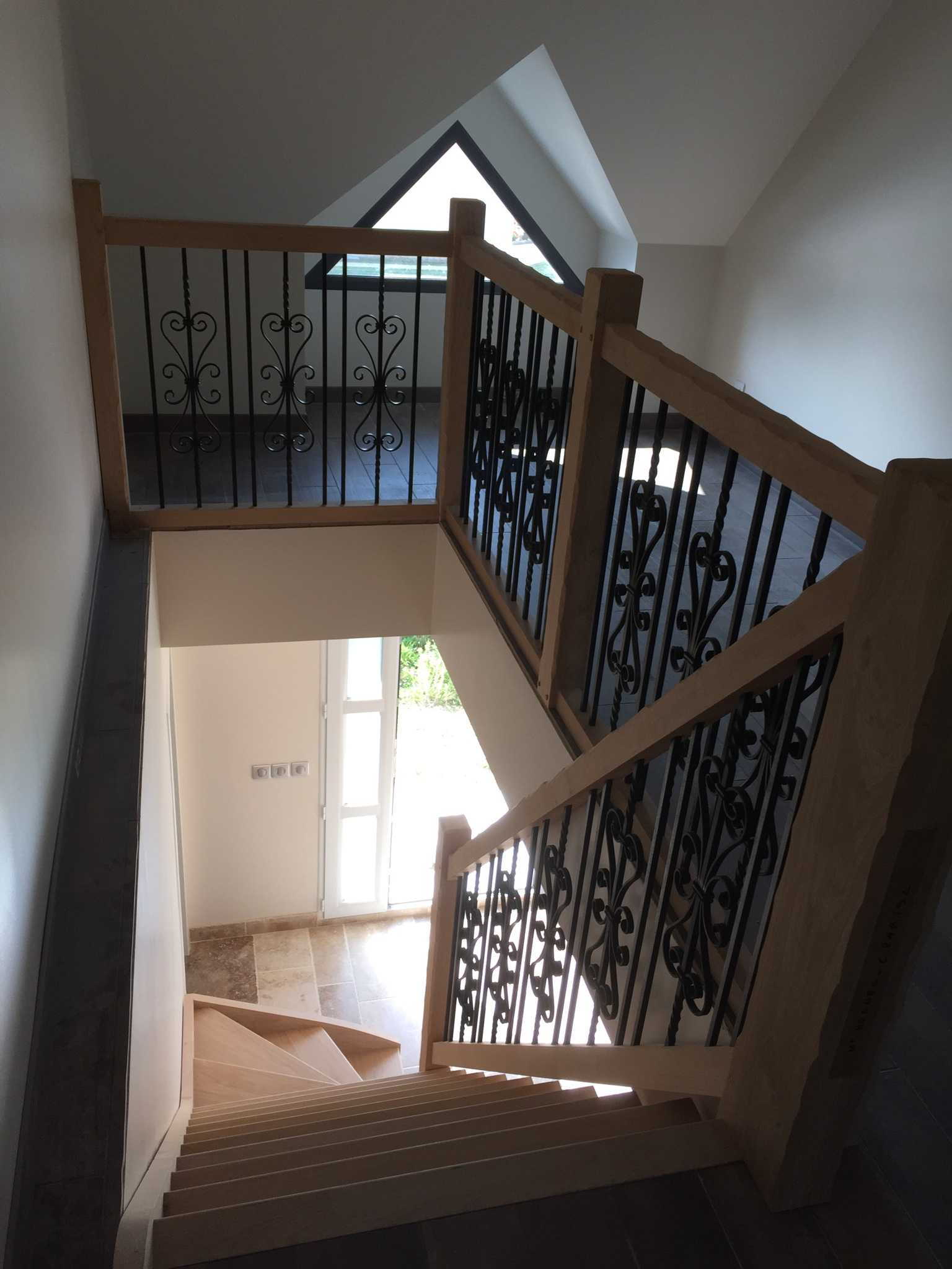 100 fabricant escalier en fer forge rampe for Chambre a coucher zebrano