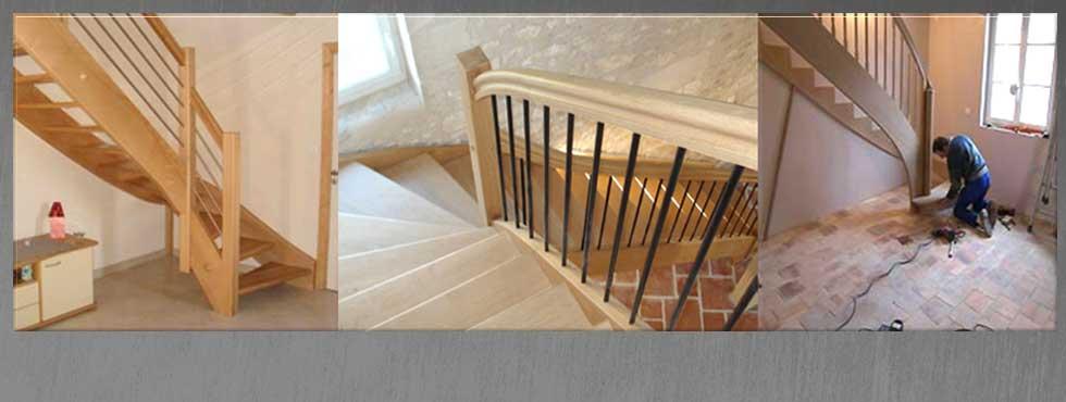 <ul> <li>Escalier quart tournant à partir de 990 € TTC</li> <li>Escalier 2 quart tournant à partir de 1300 € TTC</li> </ul>
